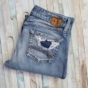 BKE Star 18 Stretch Bootcut Jeans